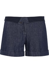 Maison Martin Margiela Denim Shorts Blue