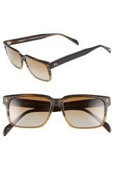 Men's Salt 'Wooderson' 55Mm Polarized Sunglasses Brown Gradient Brown