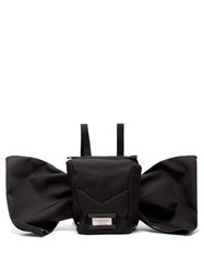 Givenchy Downtown Bow Embellished Backpack Black