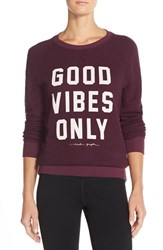 Women's Spiritual Gangster 'Good Vibes Only' Sweatshirt