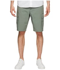 Dockers Standard Washed Cargo Shorts Agave Green Gray