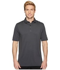 Callaway Opti Dritm Micro Hex Solid Polo Asphalt Clothing Black