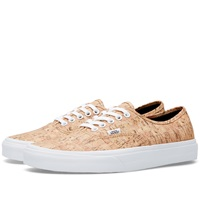 Vans Authentic Cork Tan And True White