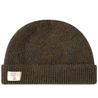 Nigel Cabourn Solid Beanie Green