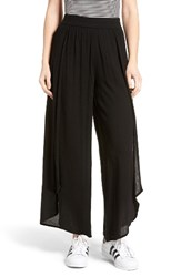 Sun And Shadow Women's Tulip Hem Wide Leg Pants