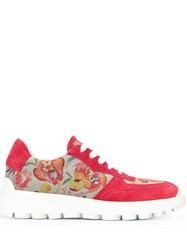Etro Low Top Sneakers Red