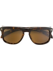 Jacques Marie Mage 'Wesley' Sunglasses Yellow