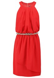Morgan Rkan Summer Dress Rouge De Mars Red
