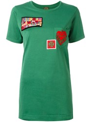 Mr And Mrs Italy Multipatch T Shirt Green