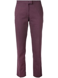 Paul Smith Ps By Vichy Checked Trousers Pink
