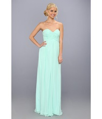 Donna Morgan Laura Gown Spearmint Women's Dress Green