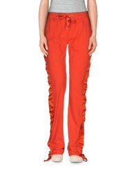 Gai Mattiolo Trousers Casual Trousers Women Orange