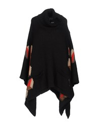 Space Style Concept Capes And Ponchos Black