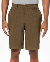 32 Degrees Men's Stretch Shorts Olive