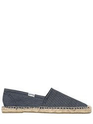 Soludos Striped Cotton Canvas Espadrilles