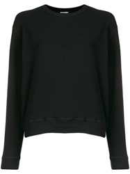 Dsquared2 Logo Embroidered Sweater Black