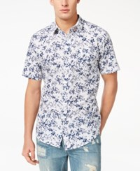 American Rag Men's Floral Shirt Created For Macy's Admiral