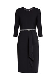 Max Mara Biacco Dress Navy