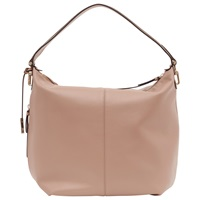 Reiss Leather Knight Shoulder Day Bag Blush