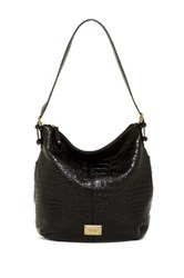 Tignanello Classic Beauty Leather Hobo Bag Black