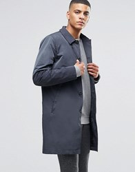 Selected Homme Lightweight Trench Blue