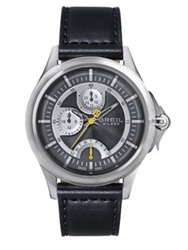 Breil Milano Dome Stainless Steel Watch Black Silver