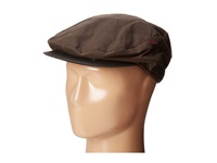 Woolrich Oil Cloth Ivy Cap With Fleece Earlap Brown Caps