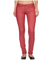 Prana Kara Jean Crushed Cran Jeans Red