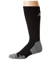 New Balance Cushioned Running Crew Sock 1 Pair Pack Black Grey Crew Cut Socks Shoes