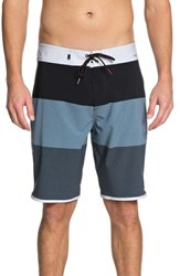 Quiksilver Highline Tijuana Scallop Board Shorts Real Teal
