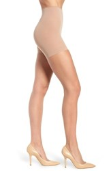 Donna Karan New York The Nudes Whisper Weight Control Top Pantyhose Beige