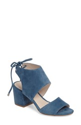 Kenneth Cole Women's New York Vito Sandal Indigo Suede