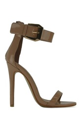 Red Kiss Electrifying Stiletto Sandal Beige