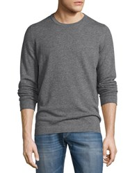 Brunello Cucinelli Cashmere Long Sleeve Sweater Charcoal