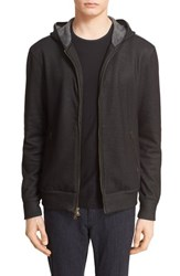 John Varvatos Men's Collection Full Zip Hoodie