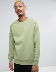 Weekday Paris Sweatshirt 06 103 Green Melange