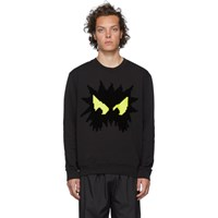 Mcq By Alexander Mcqueen Black Chester Sweatshirt