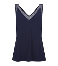 Ted Baker Leiaa Mesh Trim Camisole Navy