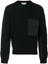 Alyx Jumper With Patch Pocket Cotton Nylon Wool M Black