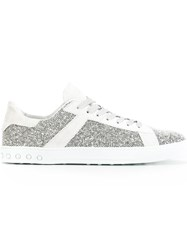 Tod's Lace Up Sneakers White