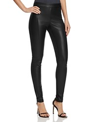 Vero Moda Cati Mixed Media Leggings Black