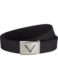 Callaway Solid Webbed Belt Black