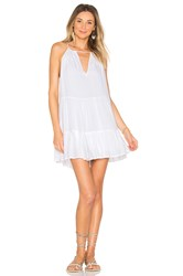 Indah Joy Mini Dress White
