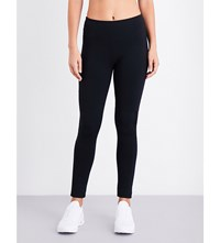 French Connection Comfort Plain Jersey Leggings Black