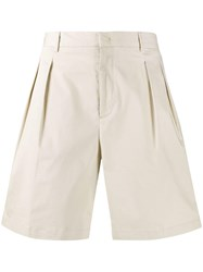 Low Brand Pleat Front Shorts 60
