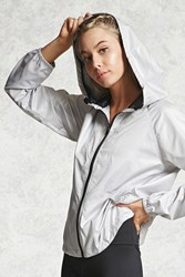 Forever 21 Active Hooded Zip Up Jacket