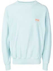 Aries Premium Temple Sweatshirt Blue