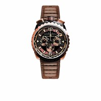 Bomberg Watches Bolt Chronograph Brown And Black 050 2.3