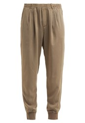 Cream Lissy Trousers Khaki