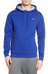 Lacoste Men's Sport Cotton Blend Hoodie France Silver Chine